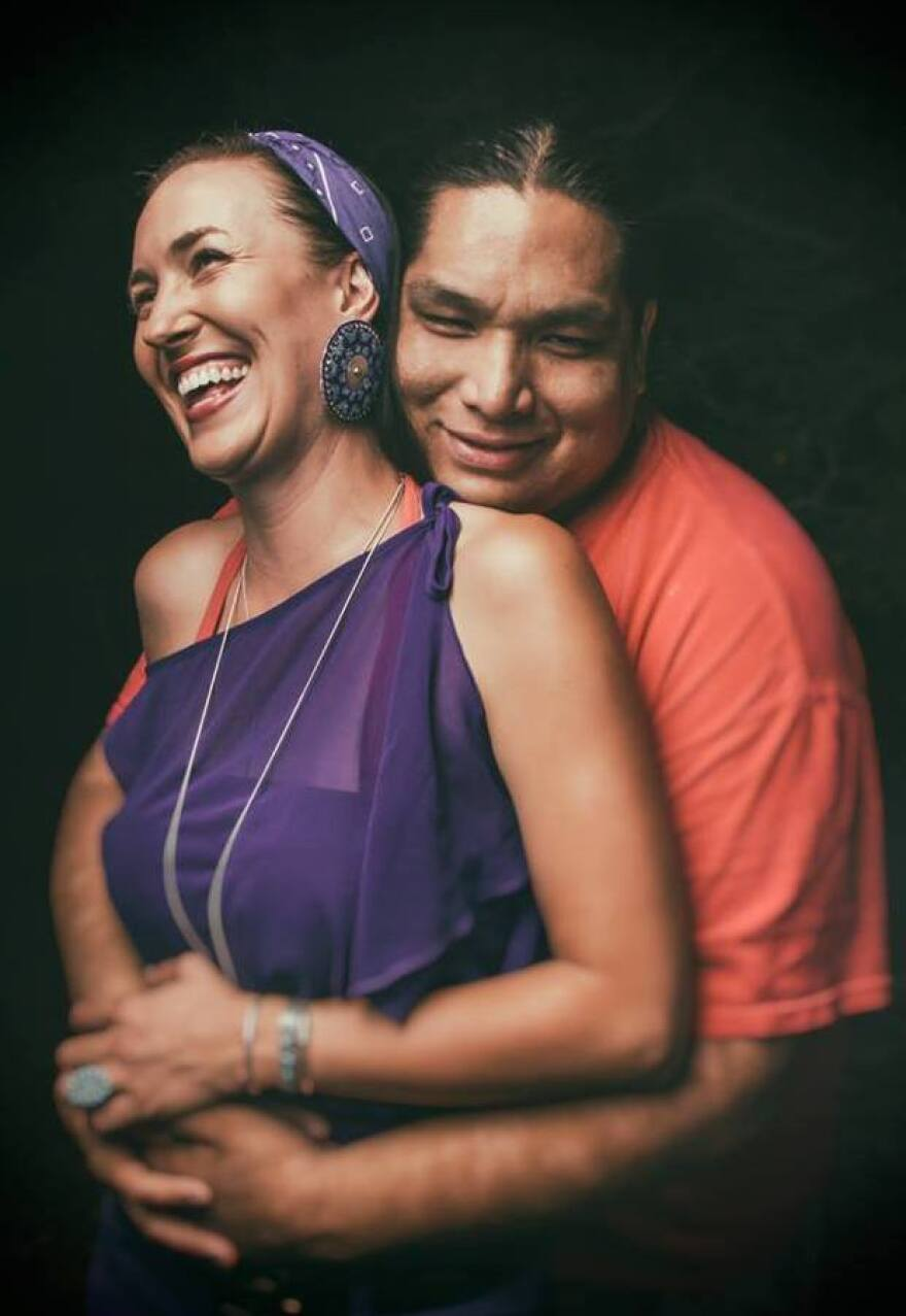 """Graphic designer Ryan Red Corn takes portraits of Natives Americans """"as they are."""""""