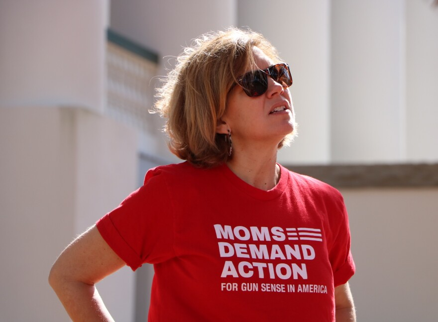 Kate Kile is the leader for the Tallahassee group of Moms Demand Action.