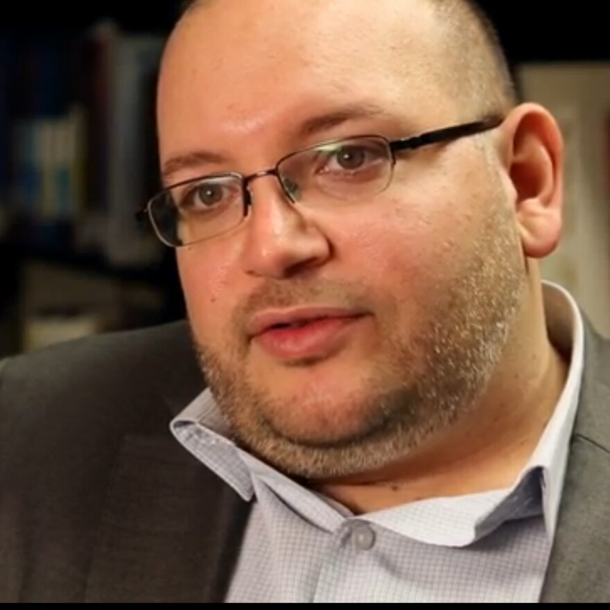 Jason Rezaian, shown on Nov. 6, 2013, is being released from Iranian custody after nearly a year and a half in prison.