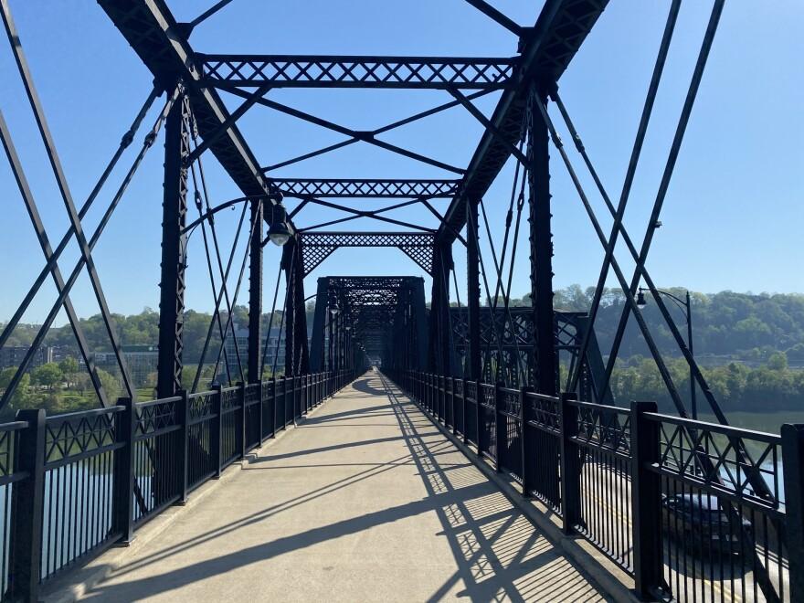 Three Rivers Heritage Trail river nature hot metal bridge infrastructure
