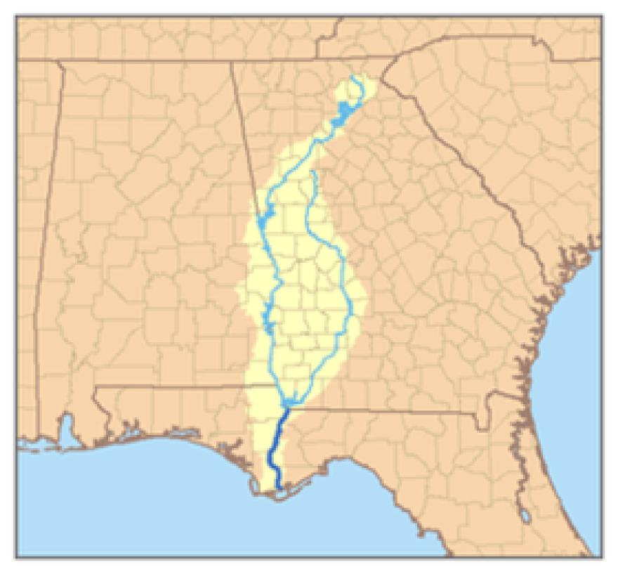 The Apalachicola - Chattahoochee - Flint River System.