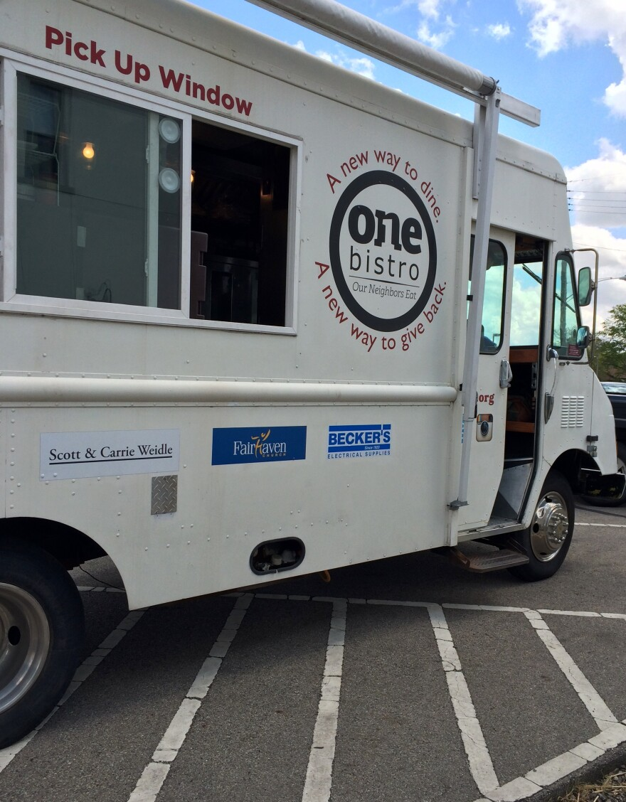 One Bistro will continue operating its food truck in downtown Xenia as it continues renovations on its new location at 87 E. Main St.