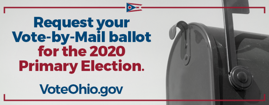 The Secretary of State's office is encouraging citizens to visit VoteOhio.gov to find information about requesting and submitting the mail-in ballot.