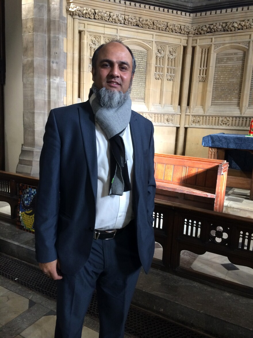 Inayat Omarji led the efforts to turn All Souls Church into a community center a decade ago, when he led the Bolton Council of Mosques.