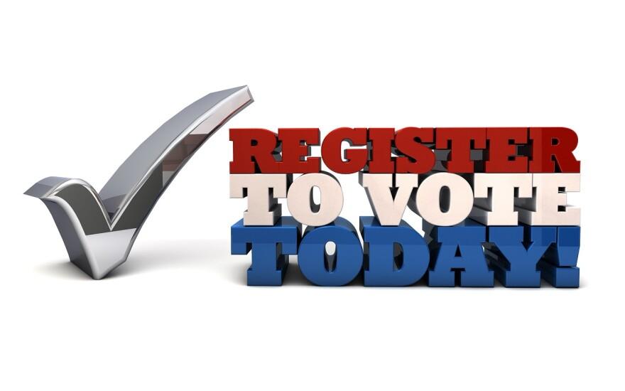 Register to vote today - voter registration