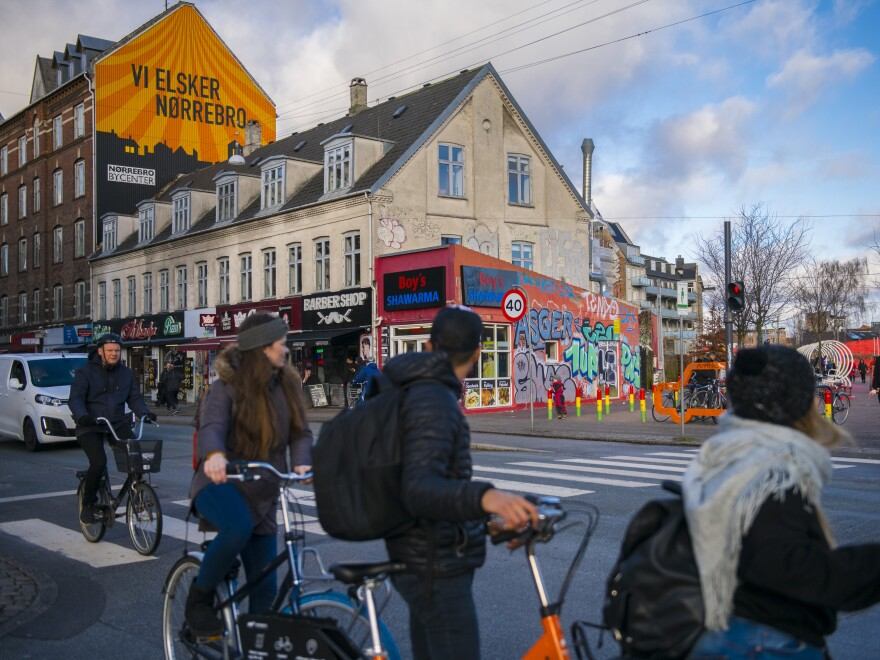 Despite a history of unrest and some continued problems with gang violence, Copenhagen's Nørrebro district is now considered a trendy place to live.