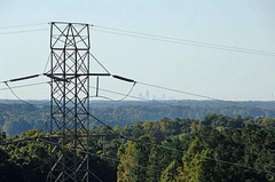Duke Energy power lines, energy