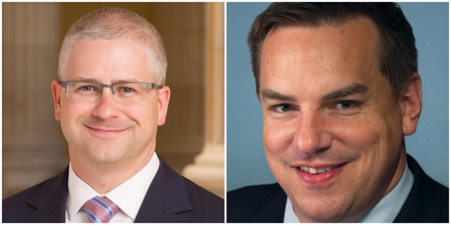 N.C. Congressmen Patrick McHenry (left) and Richard Hudson were two of seven N.C. Republicans to vote with Democrats on a resolution condemning the president's withdrawal of troops in Syria.