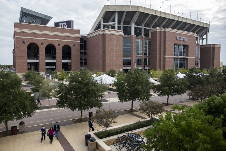 Texas A&M's Kyle Field holds over 100,000 people and is the largest in college football's Southeastern Conference.