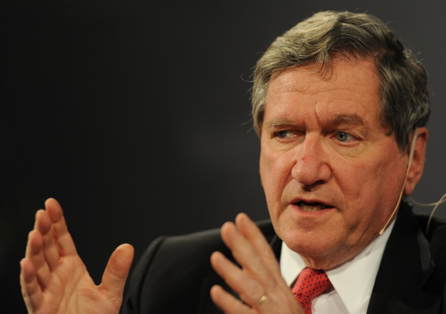 Richard Holbrooke, U.S. special representative to Afghanistan and  Pakistan, takes part in a discussion on international security in  Passau, Germany, on Nov. 12.