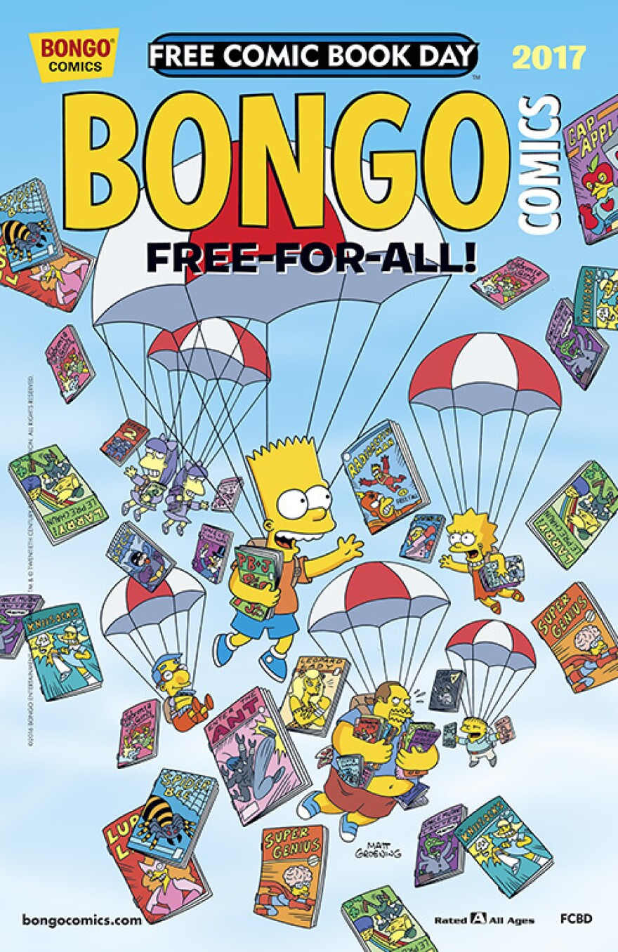 <em>BONGO Comics Free-For-All</em>