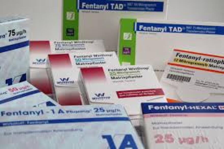 photo of fentanyl patches