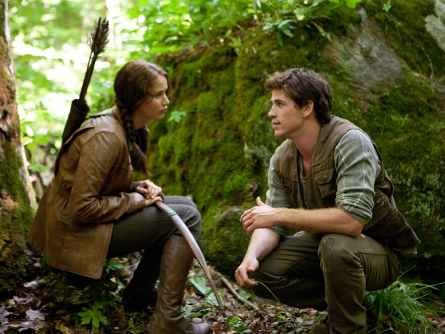 <em>The Hunger Games </em>also went to North Carolina to film, using local workers and local businesses — including lots of lumber from one local yard — to create its dystopian future world.