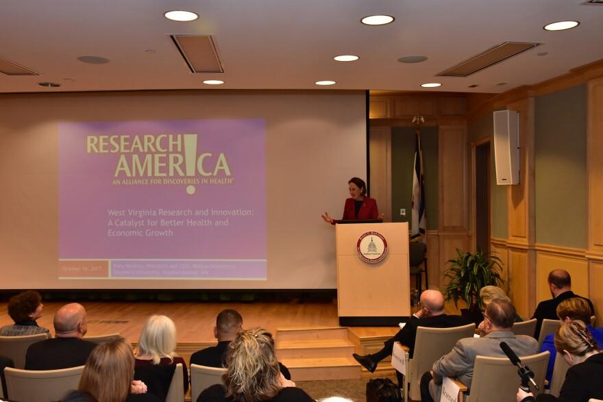 Mary Woolley, Research America, Research!America, Shepherd University
