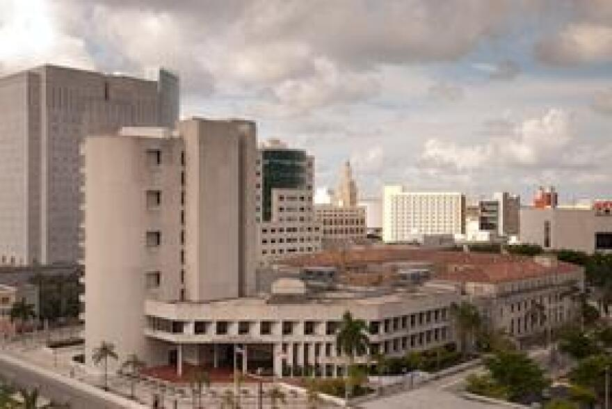 Twice a month, the ticket calendar brings people to the Clyde C Atkins Courthouse on N Miami Avenue to be heard about violations ranging from disorderly conduct to alcohol and parking violations on federal property.