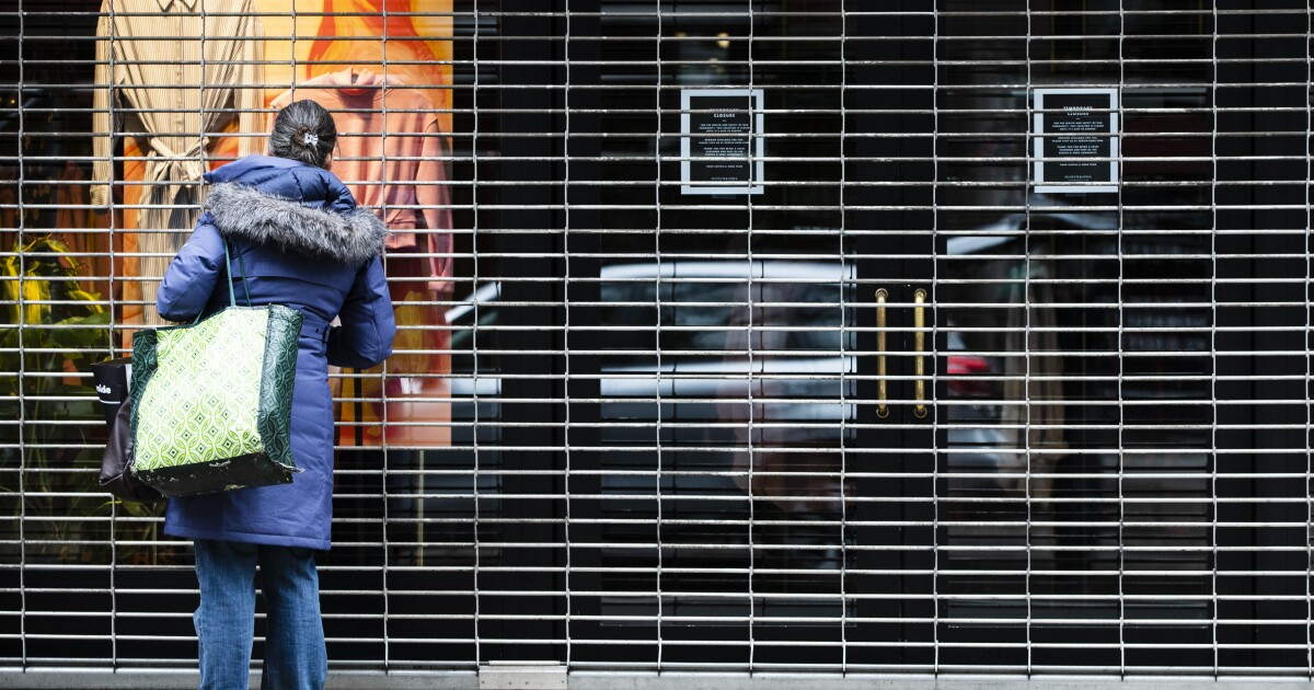 coronavirus business closed philadelphia.