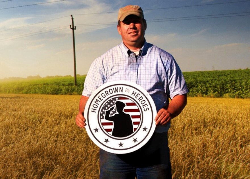 The Farmer Veterans Coalition manages the Homegrown by Heroes label that 700 veterans are now using to market their agricultural goods.