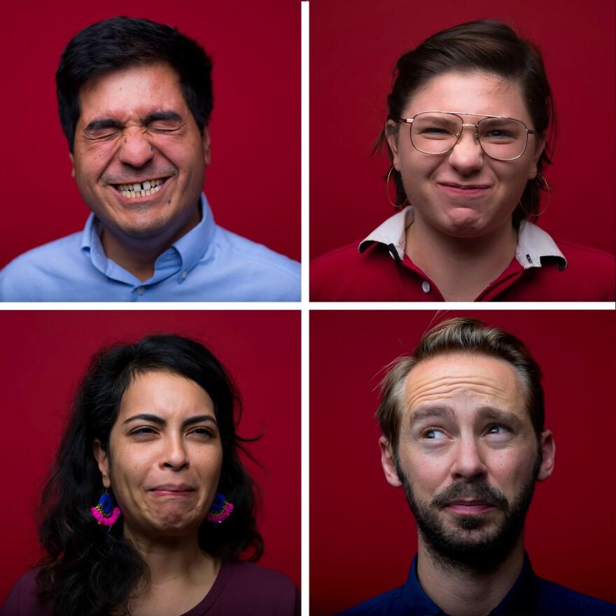 NPR's Kevin Garcia, Carolyn Rogers, Malaka Gharib and Ryan Kellman try multiple different sour treats.