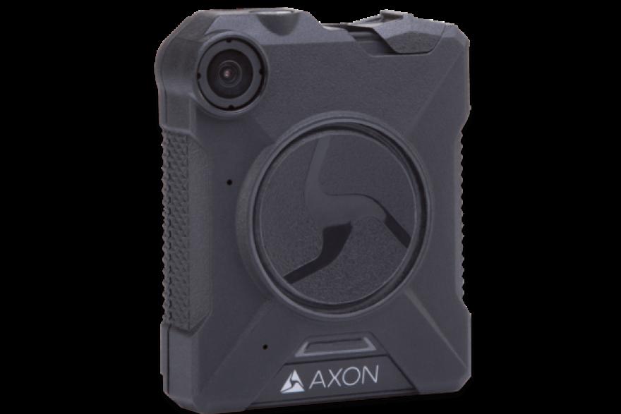 photo of Axon body camera