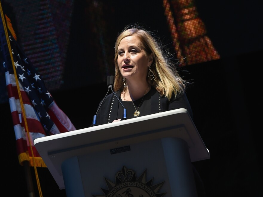 Nashville Mayor Megan Barry, speaking at an event in October, said she had an extramarital affair with the ex-head of her security detail.