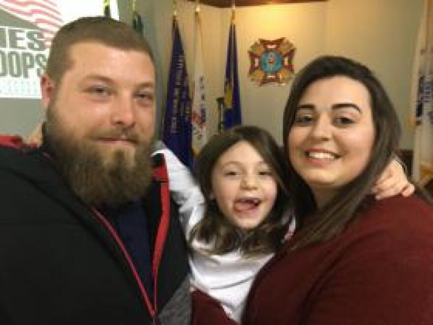 Iraq veteran Ryan Wilcox will be moving into a new accessible home with his fiancée Sara and their two children.