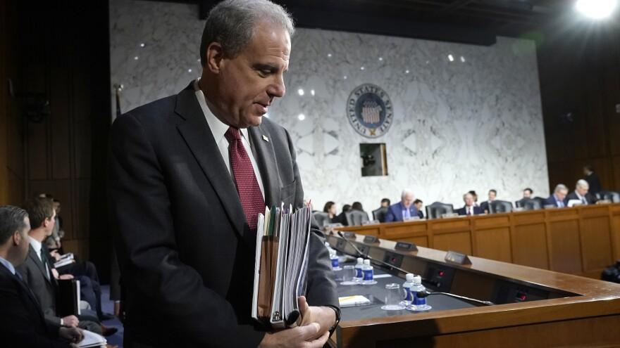Horowitz returning for testimony following a short break Wednesday.