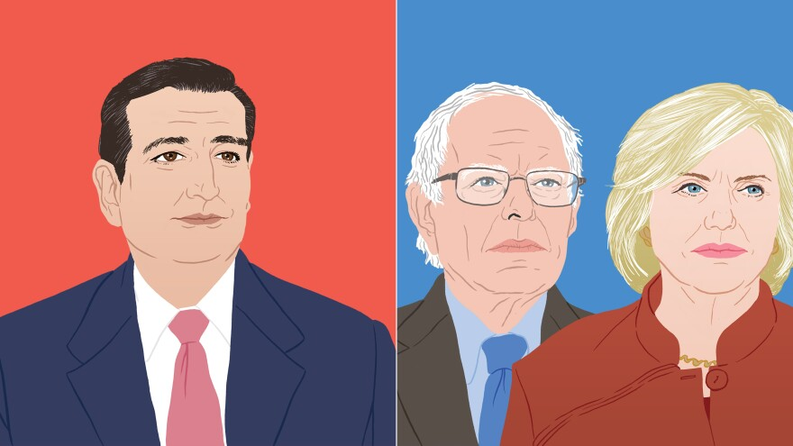 Ted Cruz has won the GOP Iowa caucuses. On the Democratic side, Hillary Clinton narrowly defeated Bernie Sanders.