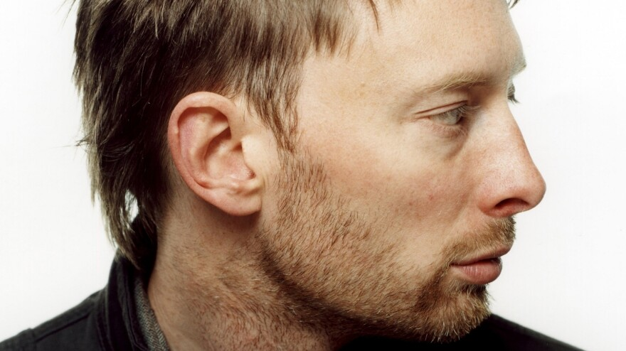 Radiohead's Thom Yorke leads Atoms for Peace, his supergroup with Flea, Nigel Godrich, Joey Waronker and Mauro Refosco.