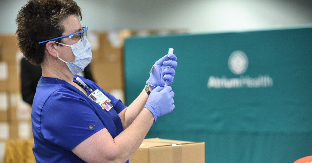 Nearly 6,000 Atrium Health employees still unvaccinated against COVID-19