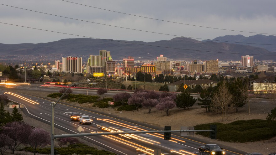 The area around Reno, Nev., is seeing some of the demographic changes that have been at the center of some of the most contentious debates of this campaign.