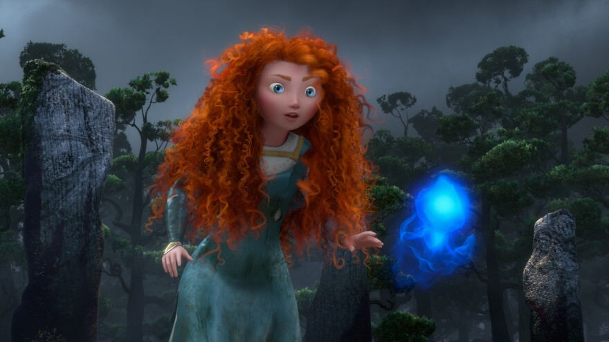 In <em>Brave</em>, Merida goes in search of a spell to get back at her mother, who wants to force her to marry a suitor.
