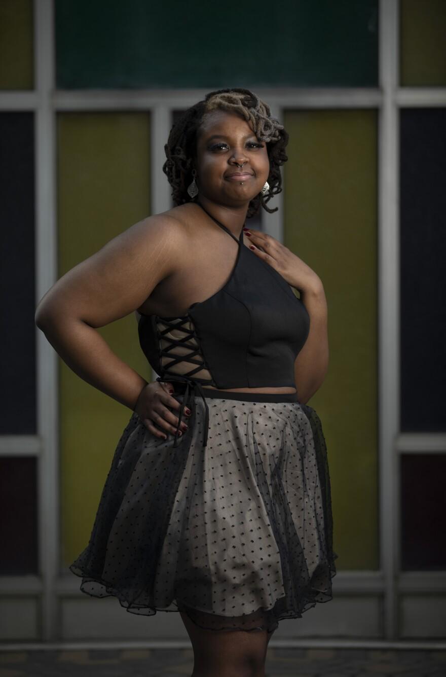 La'Rissa Dunn, 17, Bell Multicultural High School, Washington.