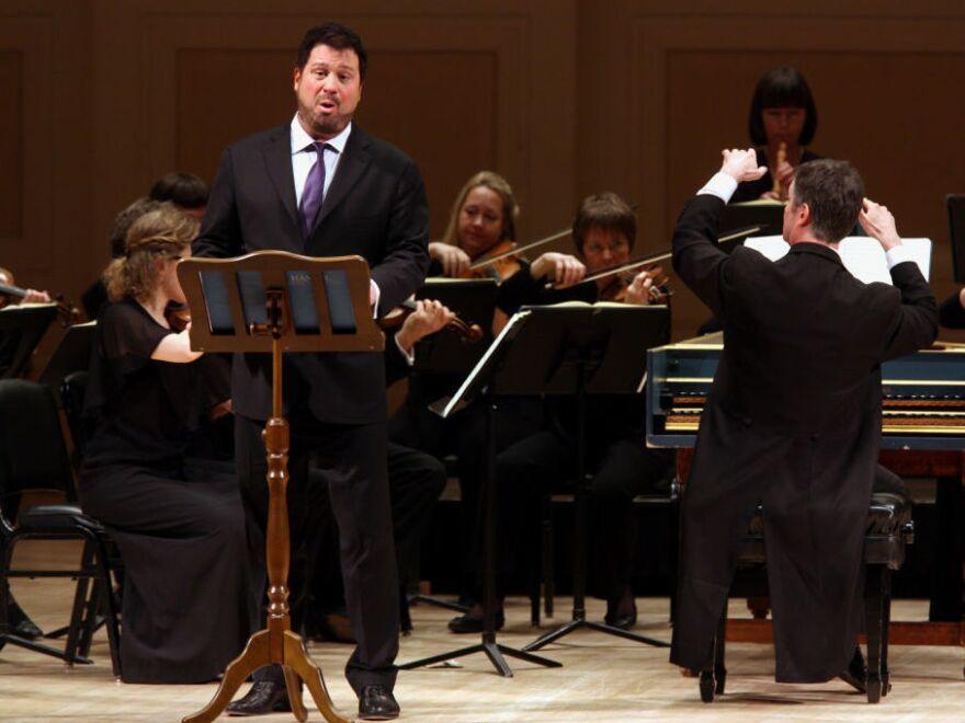 David Daniels, performing at New York's Carnegie Hall in 2013.
