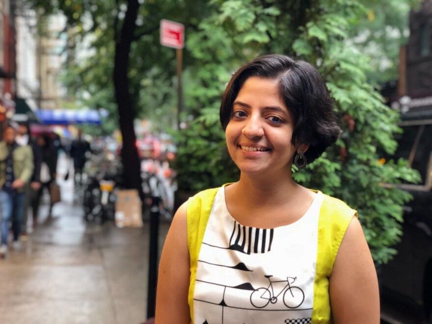 """Nandita Venkatesan, a TB survivor, spoke at the U.N.'s first high-level meeting on tuberculosis. """"It's humbling,"""" she says. """"Not long ago I was just a girl lying in bed with a hopeless future."""""""
