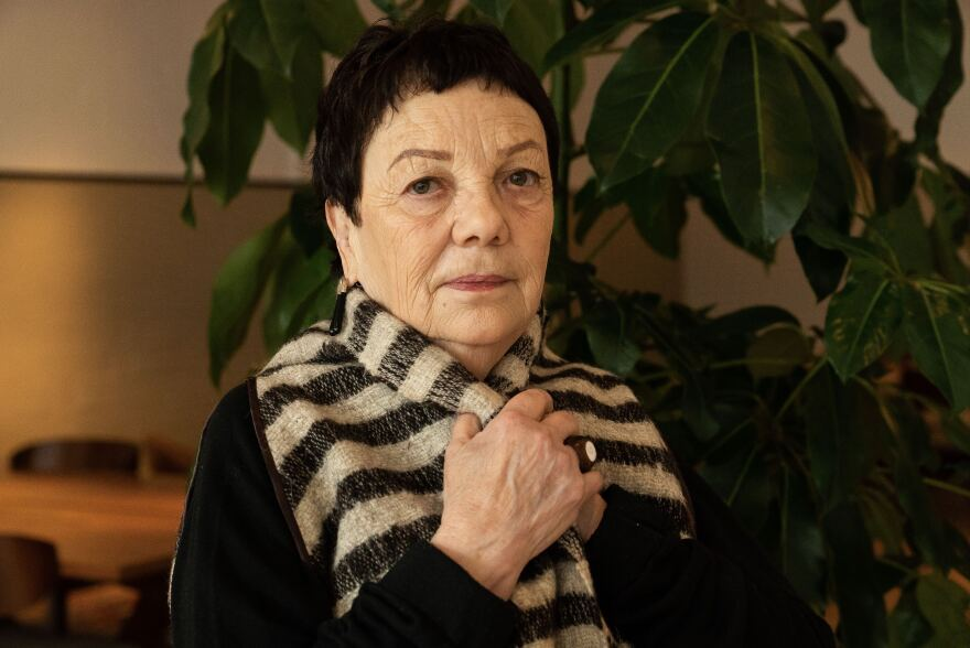 Portrait of Graciela Iturbide in Washington, D.C.
