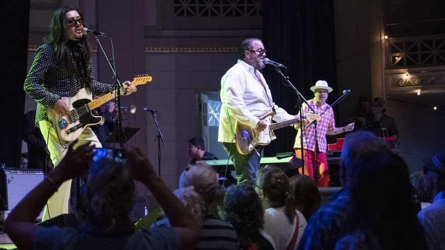 The Mavericks performed live at the 20th Annual AmericanaFest in Nashville.