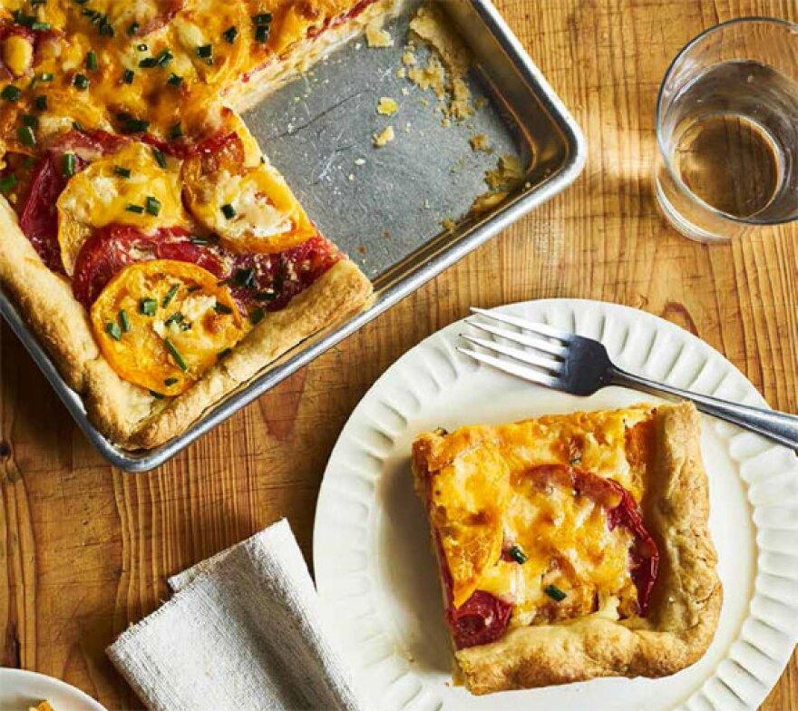 Harvest Baker Tomato Slab Pie