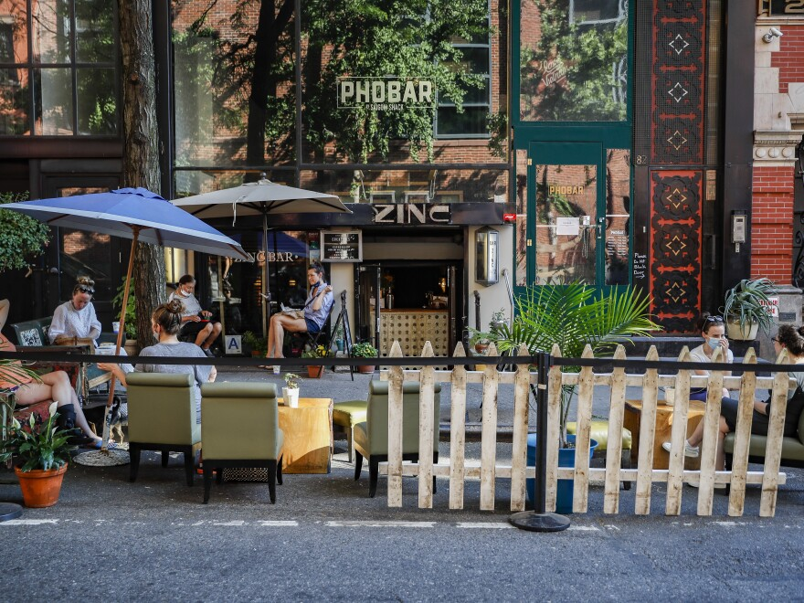 Across the country, restaurants can operate with various restrictions, like outdoor-only seating and capacity limits. New York City began Phase 2 on June 22, allowing outdoor dining to reopen.