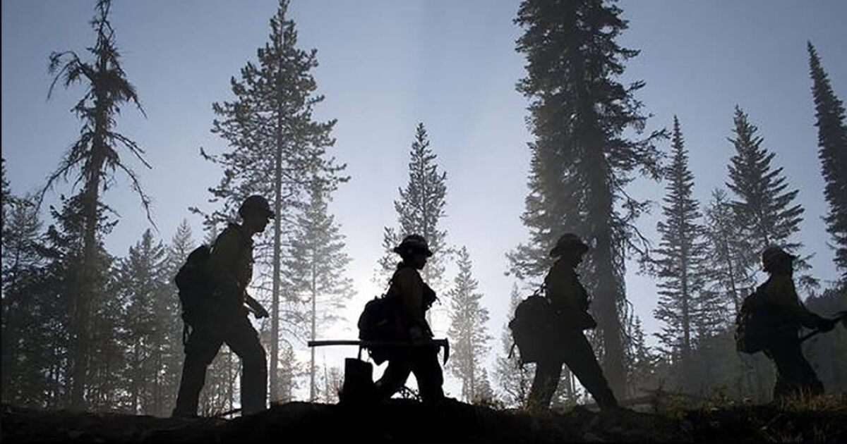 Fire Season's Not Done Yet. Haystack Fire Grows To 10,000 Acres