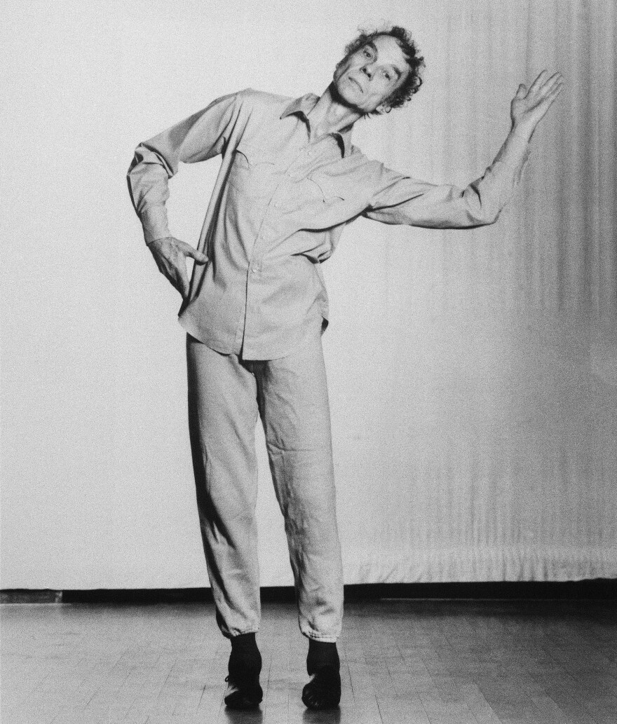 Merce Cunningham in 1988.