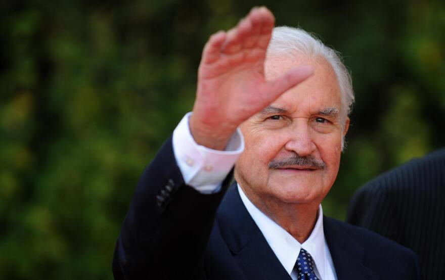 Carlos Fuentes, seen in 2008 in Toledo, Spain. His books were a melange of age and youth, politics, philosophy, popular culture and sexuality.