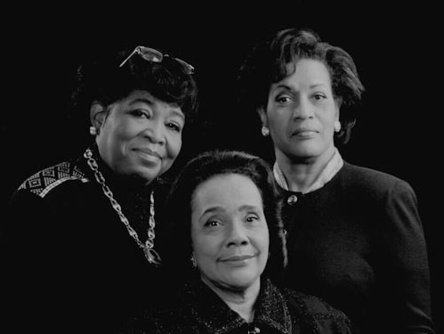 Leading ladies of the civil rights movement: Van Evers waited years for the opportunity to get Dr. Betty Shabazz (educator and widow of Malcolm X), Coretta Scott King (activist and widow of Dr. Martin Luther King Jr.) and his mother, Myrlie Evers-Williams, in the same room at the same time for a portrait.