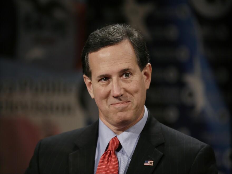 """Republicans should """"Stop talking macro-economics and start talking micro-economics,"""" says former Sen. Rick Santorum."""