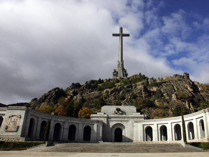The Valley of the Fallen, outside Madrid, includes Gen. Francisco Franco's tomb.