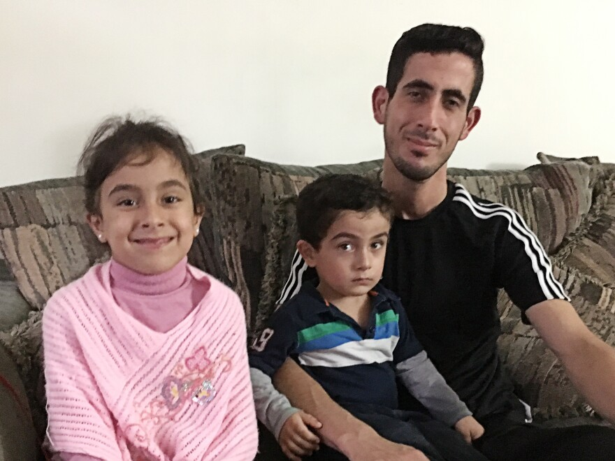 Nadal Al Hayek spent three years in a refugee camp in Jordan before coming to an apartment in Michigan's Oakland County.