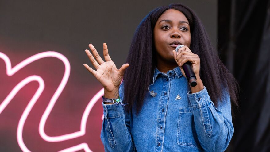"""""""I think we've been tricked into believing that we have to constantly consume, and I think challenging the way we consume is important,"""" Noname says."""