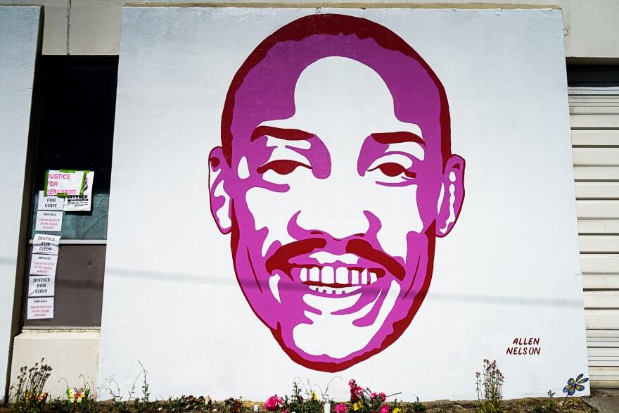 Photo of Allen Nelson portrait.