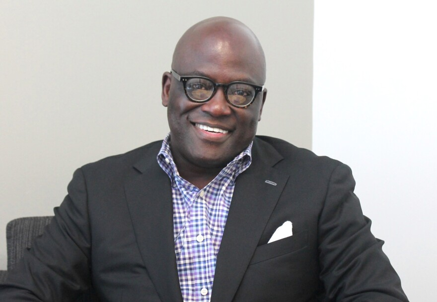 Benjamin Ola Akande talked about his new task to bring Washington University's various research and projects in Africa under one umbrella.