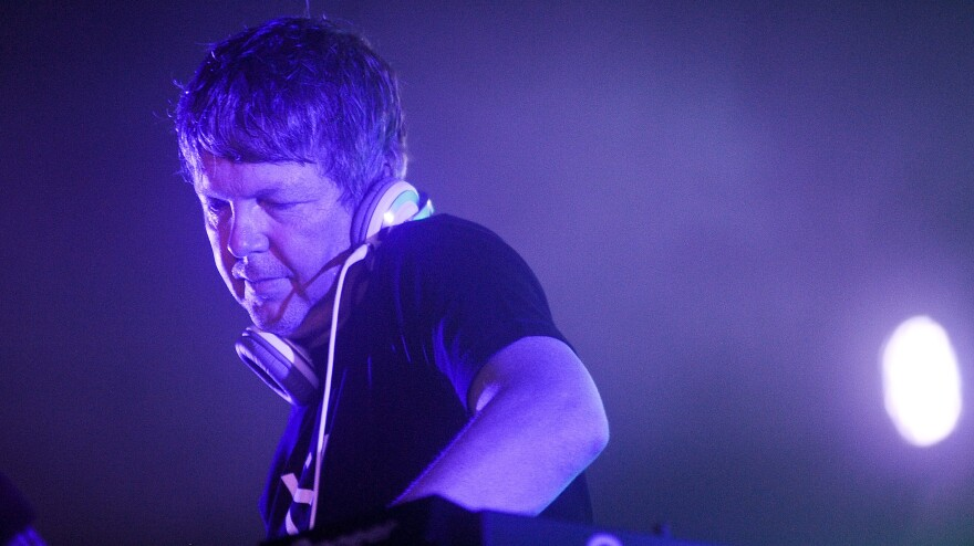 John Digweed, shown here performing in August at Electric Zoo, was one of the biggest names at the Brooklyn Electronic Music Festival last weekend.