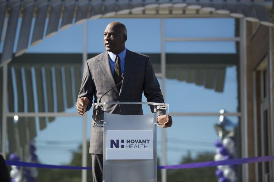 Michael Jordan Novant Clinic
